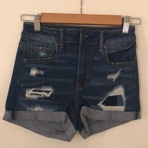 NEVER WORN AE jean shorts